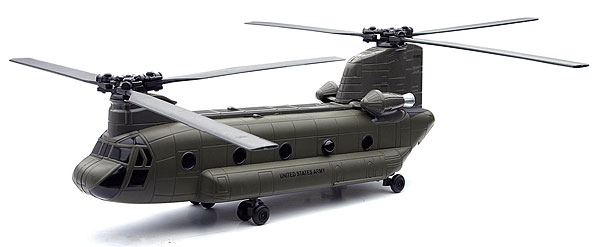 Boeing CH-47 Chinock Helicopter - Diecast Model Kit (1:55)