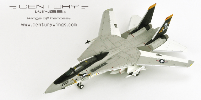 F-14A Tomcat U.S.Navy VF-84 Jolly Rogers Aj203 1978 (1:72) updated mold - Preorder item, order now for future delivery