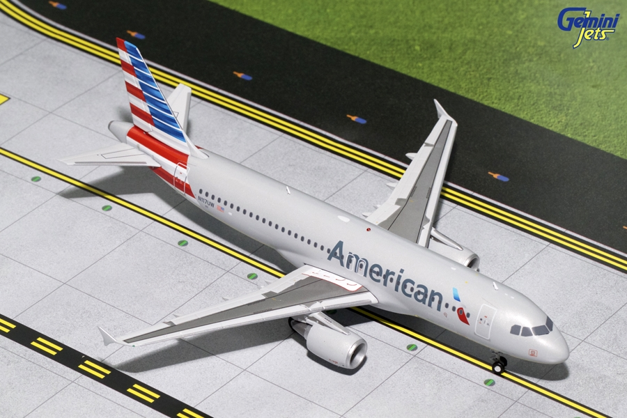 American A320-200 N117UW (1:200) - Preorder item, order now for future delivery