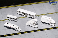 American Airlines Ground Service Equipment Trucks (1:200) - Preorder item, Order now for future delivery