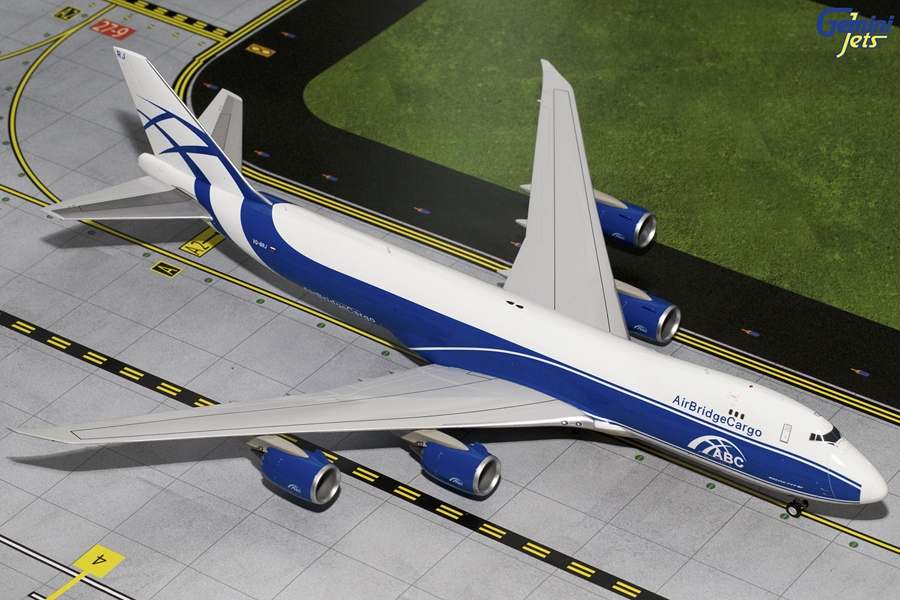 Air Bridge Cargo 747-8F VQ-BRJ (1:200) - Preorder item, order now for future delivery