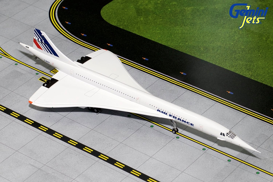 Air France Concorde Red, White, Blue Tail F-BVFF (1:200)