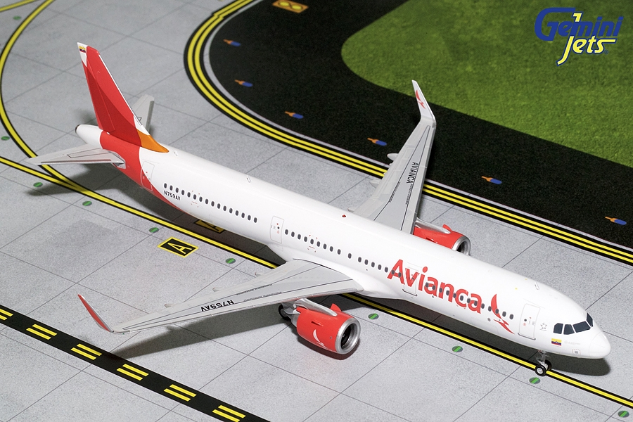 Avianca A321neo N759AV (1:200) - Preorder item, Order now for future delivery