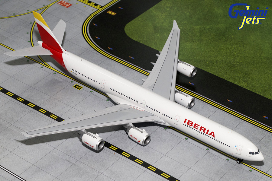 Iberia A340-600 New Livery EC-LEV (1:200) - Preorder item, order now for future delivery