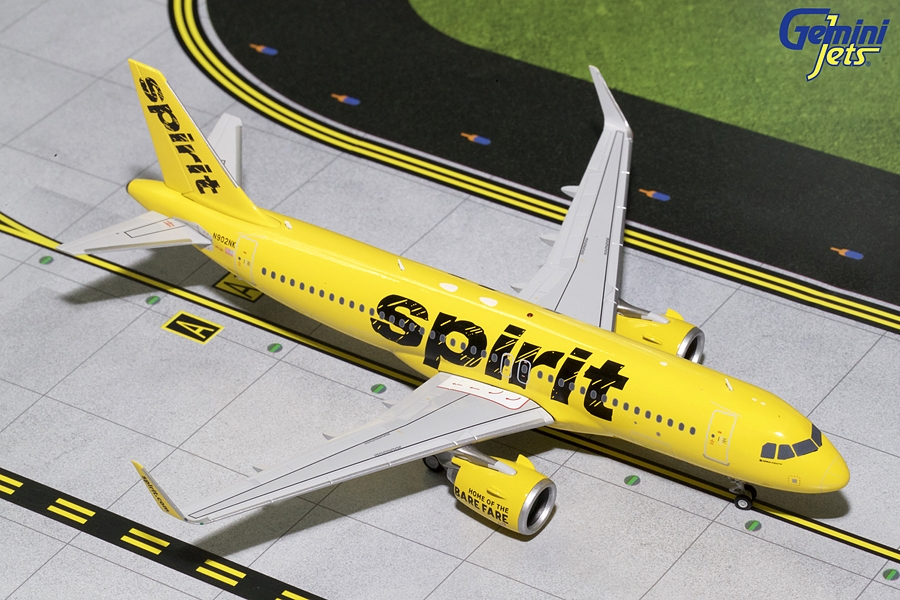 Spirit Airlines A320neo N902NK (1:200)