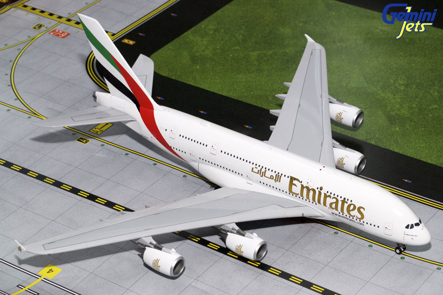Emirates A380-800 A6-EUF (1:200) - Preorder item, order now for future delivery