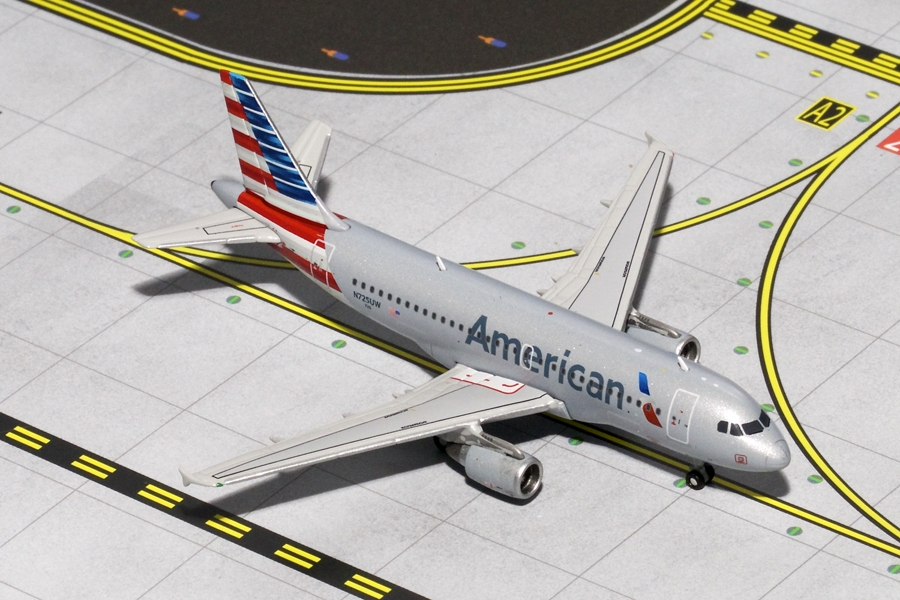 "American Airlines A319 ""New Livery"" N725UW (1:400)"