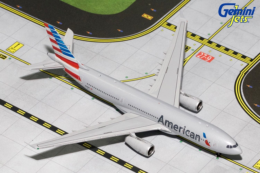 American Airlines A330-200 New Livery N290AY (1:400) - Preorder item, order now for future delivery