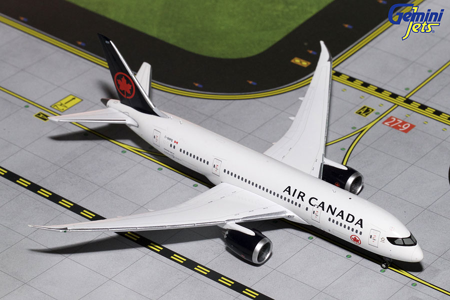 Air Canada B787-8 New Livery C-GHPQ (1:400) - Preorder item, order now for future delivery