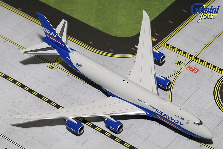 Silkway B747-8F VQ-BVB (1:400) - Preorder item, order now for future delivery