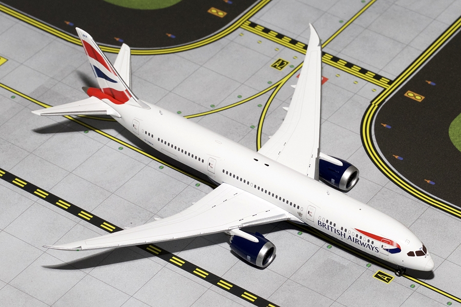 British Airways B787-9 G-ZBKA (1:400)