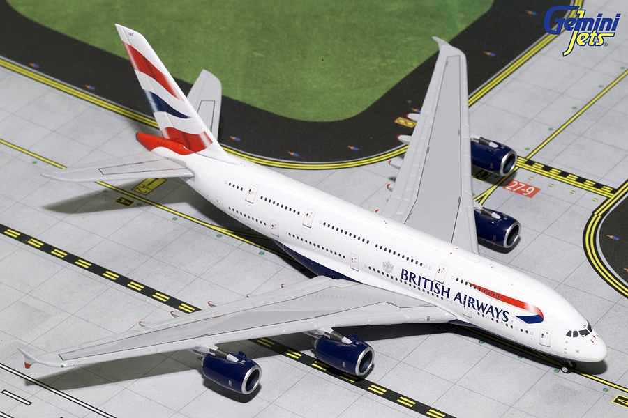 British Airways A380 G-XLEC (1:400) - Preorder item, order now for future delivery