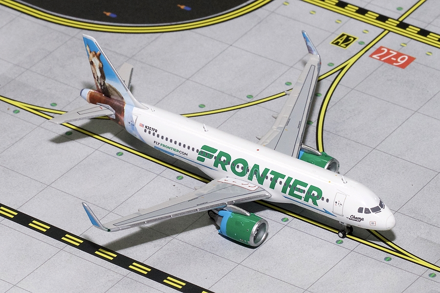 "Frontier Airlines A320neo N307FR ""Champ the Bronco"" (1400)"