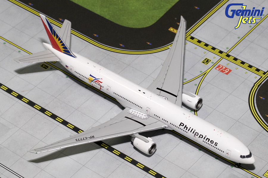 "Philippines B777-300ER ""75th Anniversary"" with Tug RP-C7773"