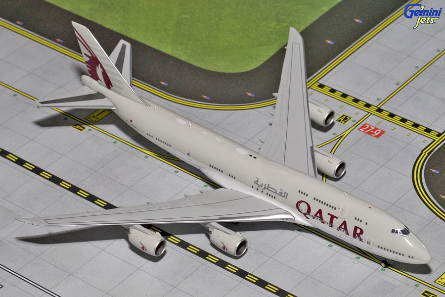 Qatar 747-8I A7-HHE (1:400) - Preorder item, order now for future delivery