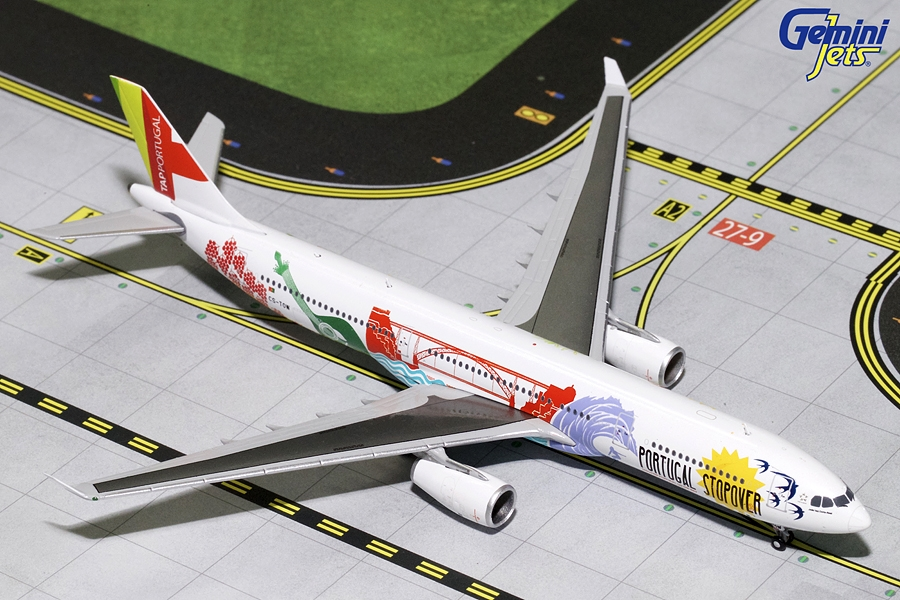 "TAP Air Portugla A330-300 ""Portugal Stopover"" CS-TOW (1:400) - Preorder item, order now for future delivery"