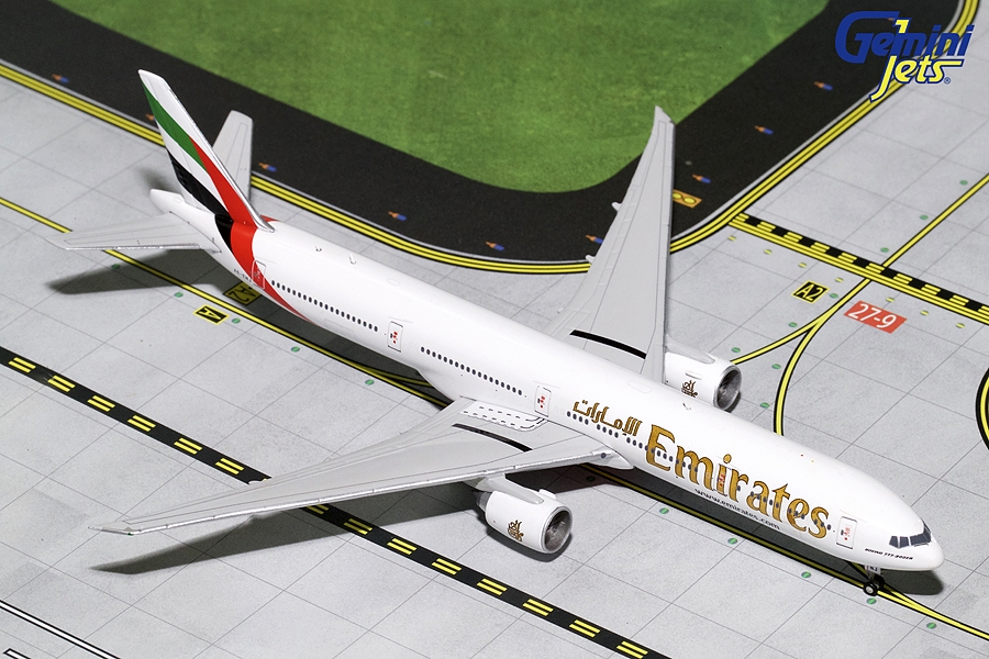 "Emirates B777-300ER A6-EUZ ""Year of Zayed 2018"" (1:400) - Preorder item, Order now for future delivery"