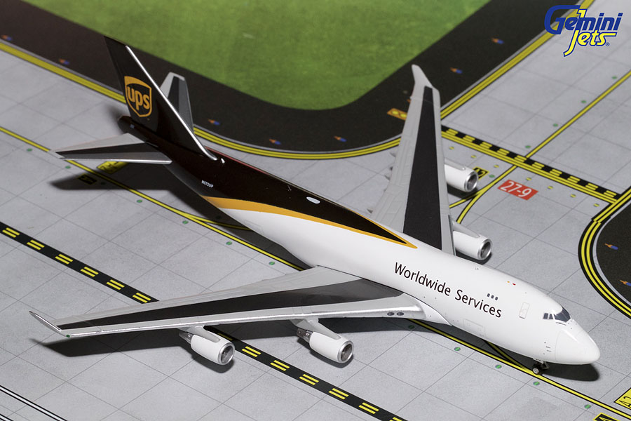 UPS B747-400 New Livery N572UP (1:400) - Preorder item, order now for future delivery