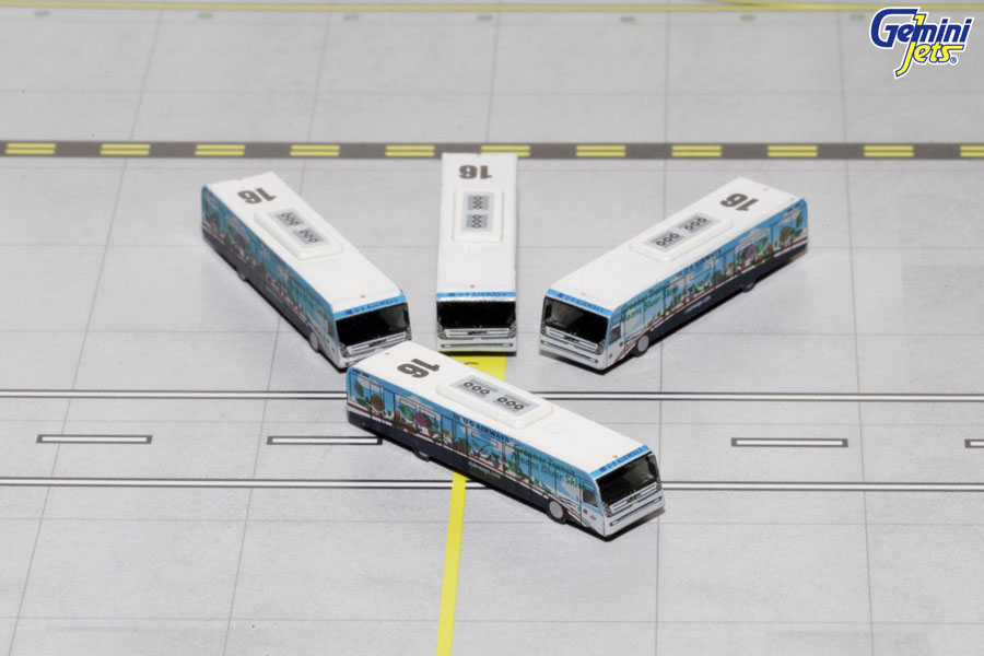 "US Airways Cobus 3000 ""Greener"" (4 buses) (1:400) New Mould"