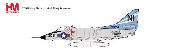 A-4C Skyhawk, BuNo 149574, VA-153, USS Coral Sea, 1960s (1:72) - Preorder item, order now for future delivery