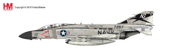"F-4J Phantom II ""Showtime 112""  157267, Lt. Randy ""Duke"" Cunningham, VF-96, USS Constellation, 1972 (1:72) - Preorder item, order now for future delivery"