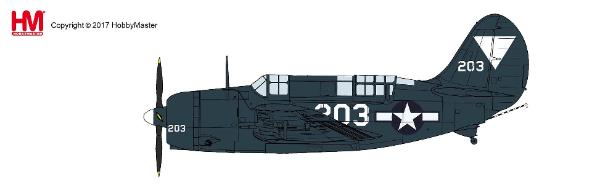 SB2C-4E Helldiver, VB-87, USS Ticonderoga, May 1945 (1:72)  - Preorder item, Order now for future delivery