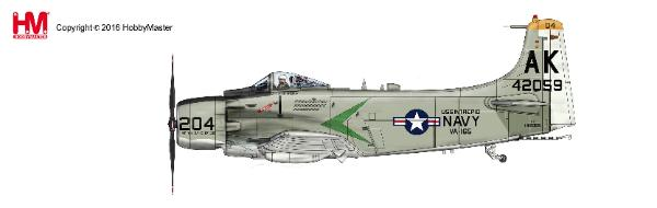 "A-1H Skyraider ""Puff The Magic Dragon"", VA-165 ""Boomers"" (1:72) - Preorder item, order now for future delivery"