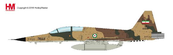 F-5F Tiger II, 43rd TFS, Islamic Iranian AF, 2009 (1:72) - Preorder item, order now for future delivery