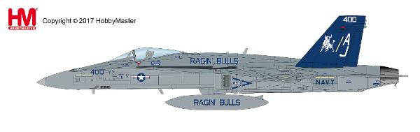 "F/A-18C Hornet, VFA-37 ""Ragin' Bulls"", USS George H. W. Bush, 2016 (1:72) - Preorder item, order now for future delivery"