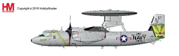"E-2C Hawkeye, ""Iraqi Freedom"", NF 600/165295, VAW-115, USS Kitty Hawk  (1:72) - Preorder item, order now for future delivery"