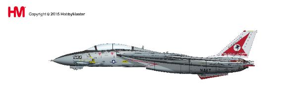 F-14A Tomcat, 162698, VF-14 Tophatters, 80th Anniversary, 1999 (1:72) - Preorder item, order now for future delivery