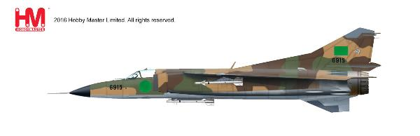 MIG-23MS Flogger, 6915, Libyan Air Force 1980s (1:72) - Preorder item, order now for future delivery