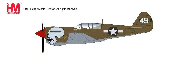 P-40N Warhawk, 89th FS, 80th FG, Assam Valley, Naggaghuli Base, 1944 (1:72) - Preorder item, order now for future delivery