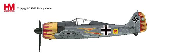 FW 190A-4, W. Nr. 634, flown by Major Hermann Graf, JG 2, France 1943 (1:48) - Preorder item, order now for future delivery