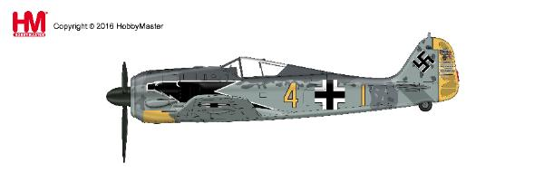 FW 190A-4  Staffelkapitan Hptm. Siegfried Schnell, 9./JG 2, Feb., 1943 (1:48) - Preorder item, order now for future delivery
