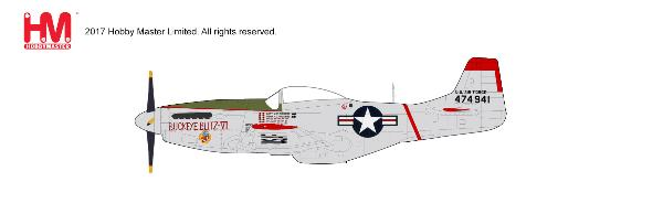 "P-51D Mustang, Capt. J.W. Rogers, ""Buckeye Blitz IV"" 36th FBS, 8th FBW (1:48) - Preorder item, Order now for future delivery"