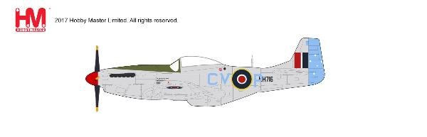 P-51K Mustang Mk.IVa, Squadron Leader Murray Nash, 3 Sqn, RAAF, Fano, Italy 1945 (1:48) - Preorder item, Order now for future delivery