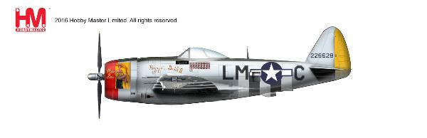 P-47D Thunderbolt, Capt. Frederick Christensen, 62nd FS/56th FG, England 1944 (1:48) - Preorder item, order now for future delivery