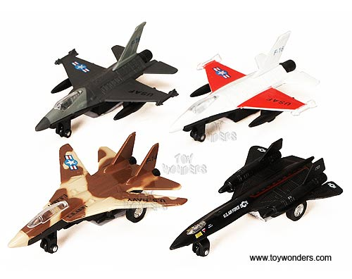 "Airplanes (4.75"" - 5.25"", Assorted Colors.) - sold individually"