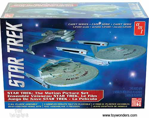 Star Trek The Motion Picture Set (1:2500 scale model)