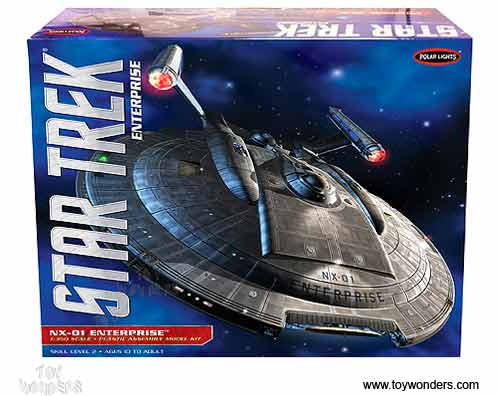 Star Trek Enterprise NX-01 (1:350 scale model)