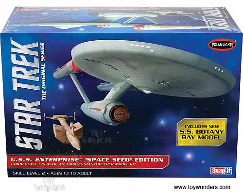 "Star Trek U.S.S. Enterprise ""Space Seed"" Edition (1:1000 scale model)"