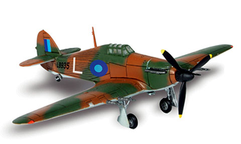 WWII U.K. Hurricane South East Asia 1944 (1:72)