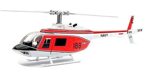 Navy Bell 206 Training Helicopter (1:34)