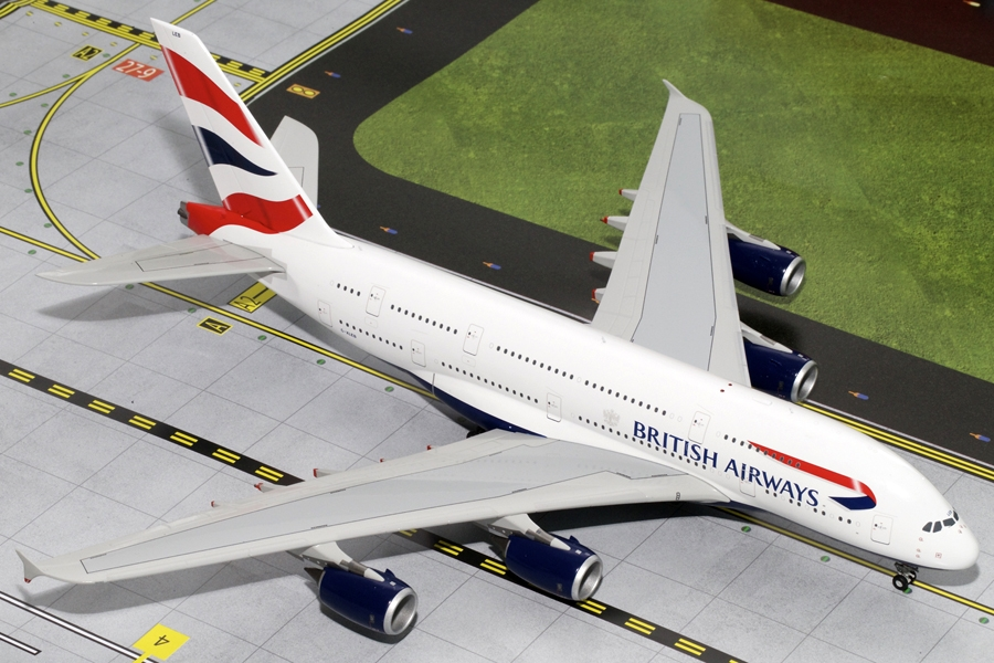 British Airways A380 G-XLEB (1:200) - Preorder item, order now for future delivery