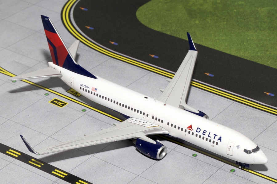 Delta B737-800W N375DA (1:200) - Preorder item, order now for future delivery