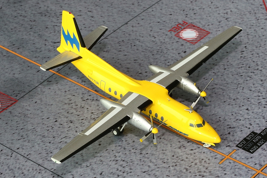 Hughes Airwest F-27 N2773R (1:200) New Mould!