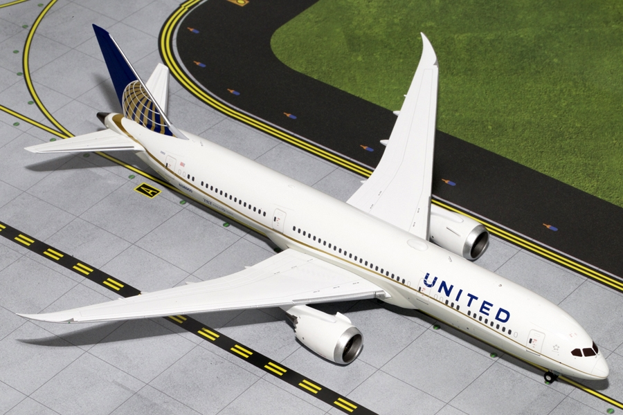 United Airlines B787-9 N38950 (1:200) - Preorder item, order now for future delivery