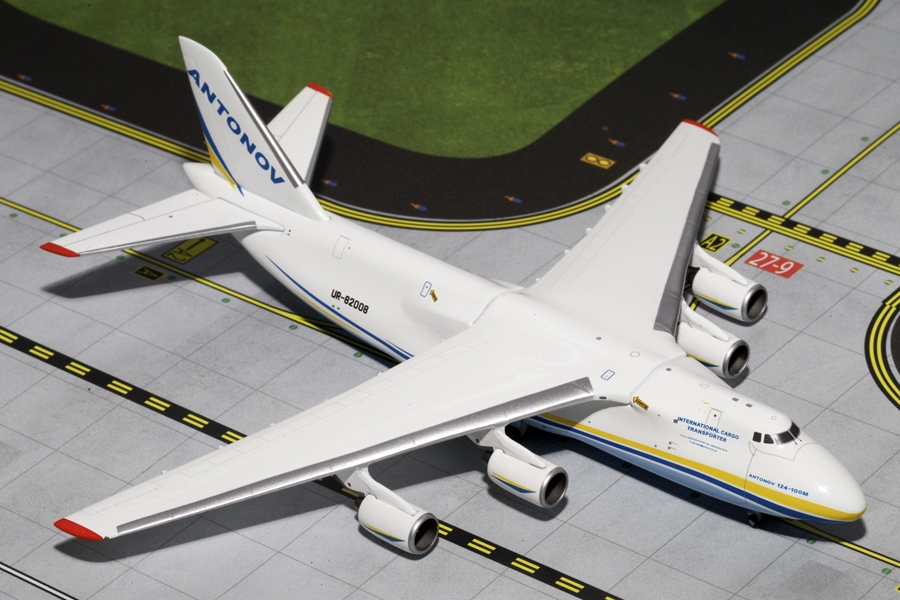 "Antonov Airlines AN-124 ""New Livery"" UR-82008 (1:400) - Preorder item, order now for future delivery"