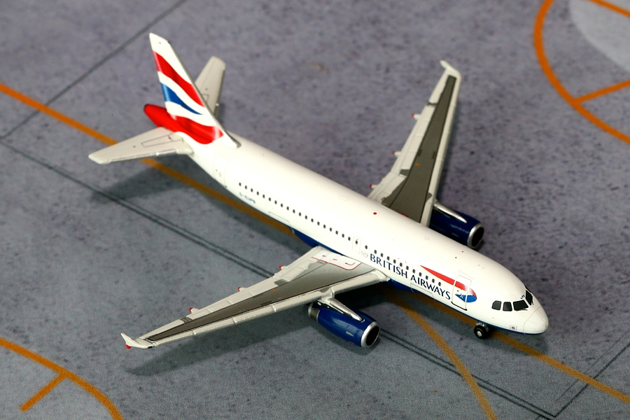 British Airways A319 G-EUPB (1:400)